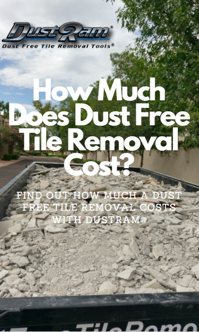how much does a tile removal cost